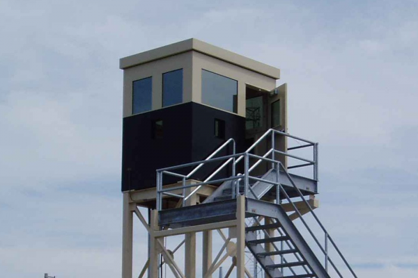 Elevated Guard Booth