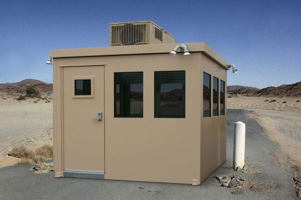 Portable Bullet Resistant Guard Booth