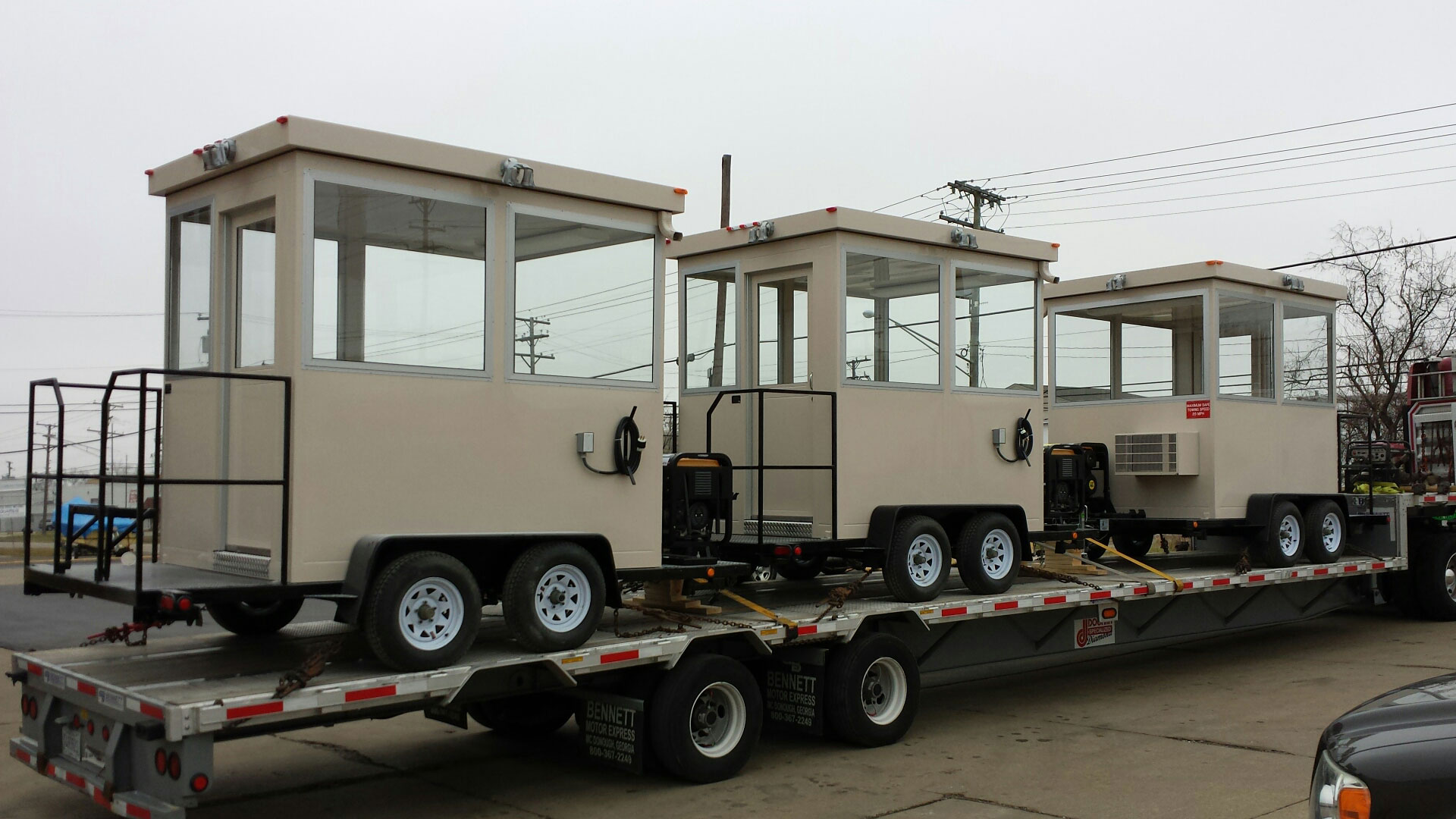 Trailer Mounted Guard Booth