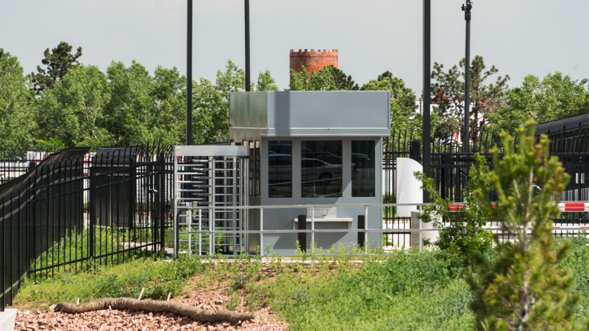 Bullet Resistant Prefab Security Booth