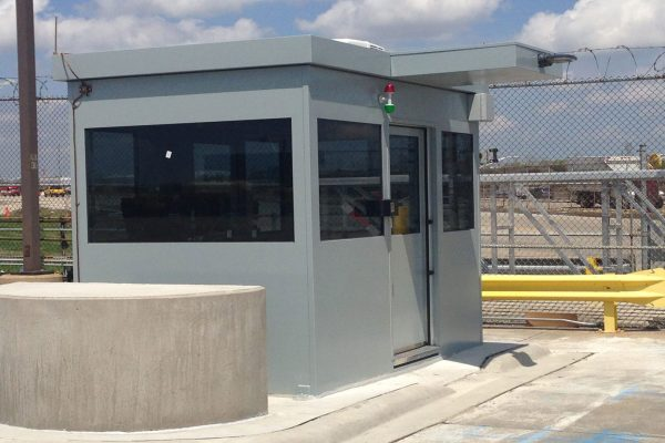 Bullet Resistant Security Guard Booth