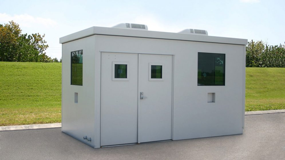 Bullet Resistant Guard Booth