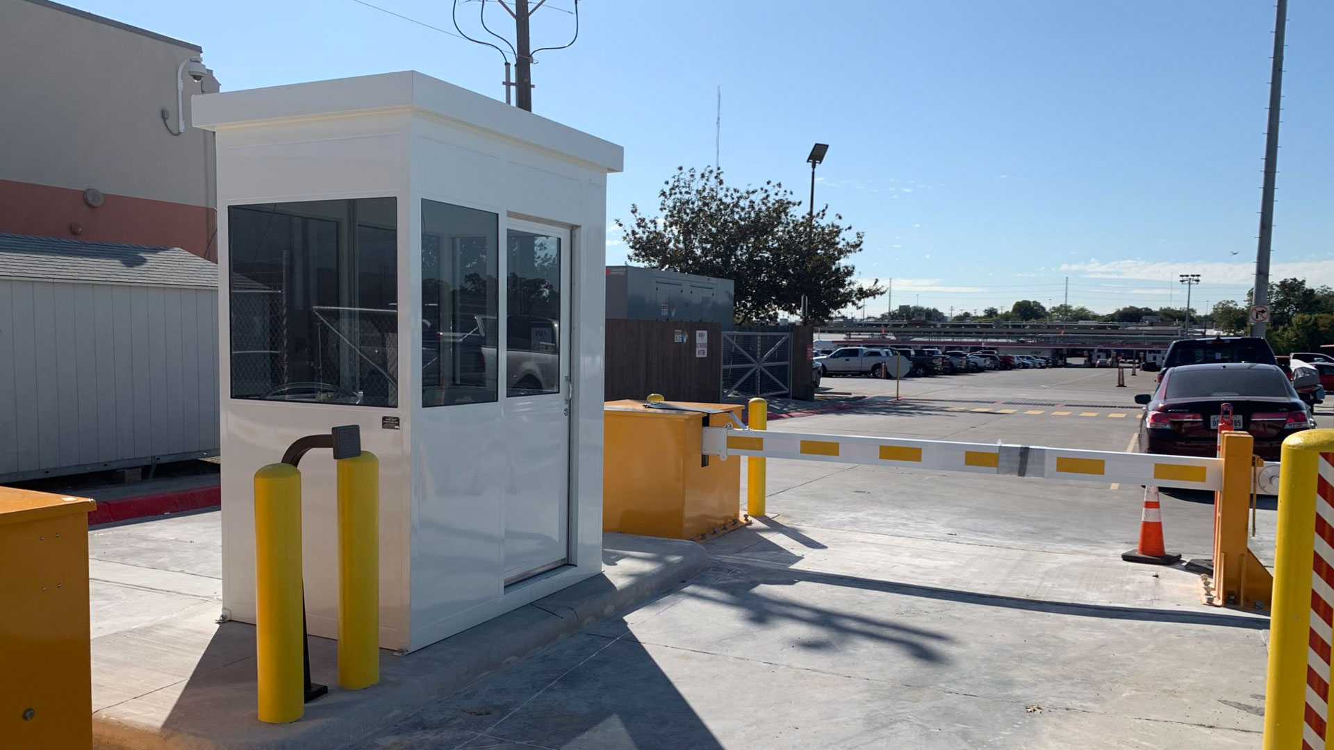 Access Control Booth