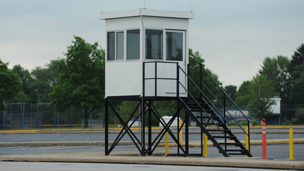 Elevated Security Booth
