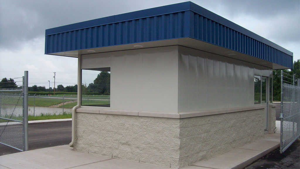 Guard Booth with Restroom