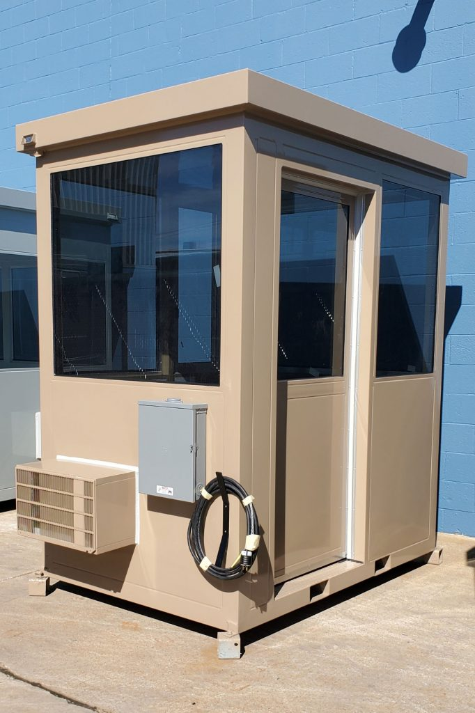 Guard Booth with Fork Lift Pockets
